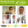 Donate & Learn Online Marketing Expo Speakers