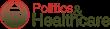 politics and healthcare logo