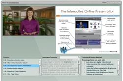 online presentation demonstration
