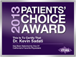 2013 Patients Choice Award