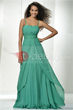 Hot A-line Spaghetti Straps Empire Waist Long Evening/Party Dress