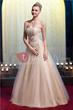 Strapless Floor-Length Empire Waistline Applique Yana's Prom/Evening Dress