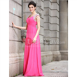 Fabulous A-Line Floor-Length Capped Sleeves Evening Dress