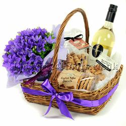 Indulgence Basket from Flowers24Hours.co.uk