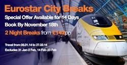 Superbreak Eurostar Offer