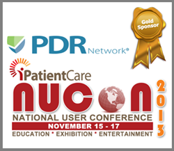 PDR Network Exhibiting at iPatientCare NUCON2013
