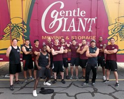 Gentle Giant Moving Company marathon community service