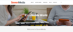 SevenMedia home page