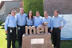 Shingo Institute awards MEI Queretaro with Shingo Silver Medallion for enterprise excellence.