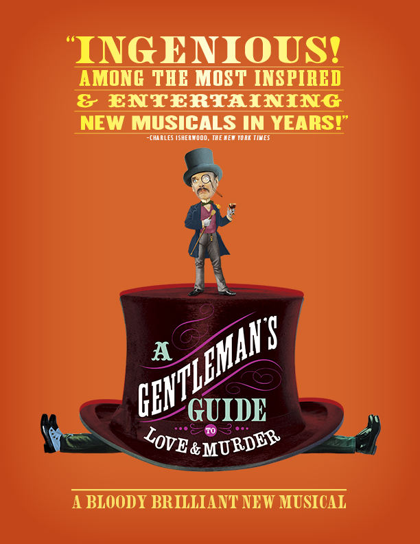 Image result for gentleman's guide to love and murder playbill