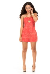 Mirage Strapless Romper by A2M USA