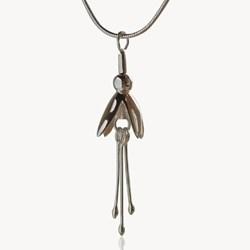 Fuchsia jewelry, fuchsia pendant, fuchsia earrings, linda uhlemann, Celtic Promise
