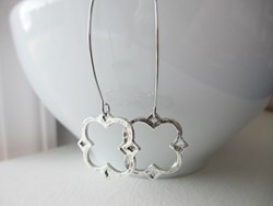 """Fancy Clover (Caroline)"" Earrings by Julie Ellyn Designs"