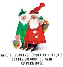 Père Noël Vert du Secours Populaire Français