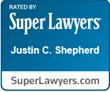 Justin Shepherd Super Lawyer