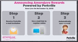 Amerejuve Rewards is as easy as signing up and earning points for purchases, referrals, and more.