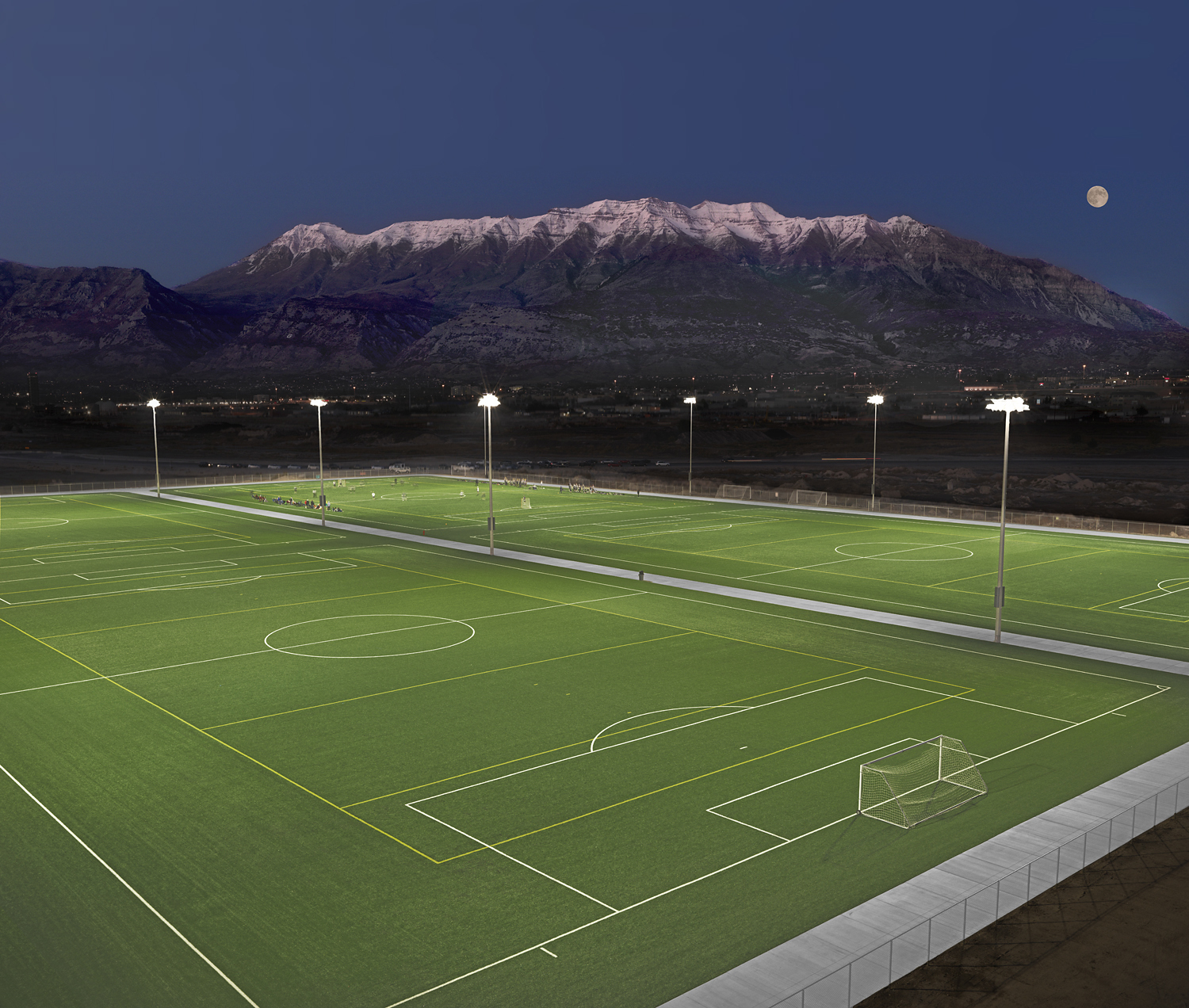Utah Valley University Installs Four New Shaw Sports Turf