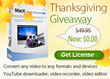 MacXDVD Gives Away MacX Video Converter Pro to Celebrate Thanksgiving...