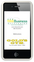 TAG Business Welcomes Health Club Client Golds Gym Spring Hill Florida