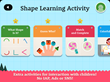 Shape the Village - Interactive Introduction on Circle, Triangle and Square for Kids