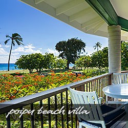 Kauai Vacation Rental at Poipu Beach