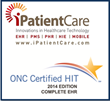 iPatientCare EHR  (2.0) Receives 2014 ONC HIT Certification from ICSA...