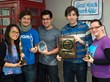 Wajam Team Shows Off Recent Company Awards