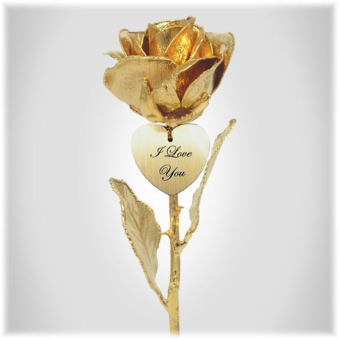 World S First 24k Gold Tulip Blooms For A Unique