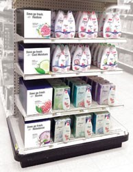 Unilever selected TFI Envision, Inc. to develop the graphics for a recent endcap promotion in Target stores