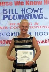 san diego plumbing company displays most recent award