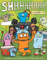 Adorable new original graphic novel now available - UGLYDOLL: SHHHHH!