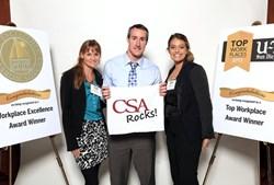CSA Top Workplace Award