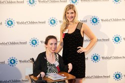 The 2013 World of Children Award Youth Honorees - Chaeli Mycroft and Sarah Cronk