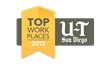 U-T San Diego Top Workplaces Logo
