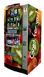 HealthyYOU Vending offers state-of-the-art vending machines that enable consumers to choose from 21 snack and 8 drink selections.