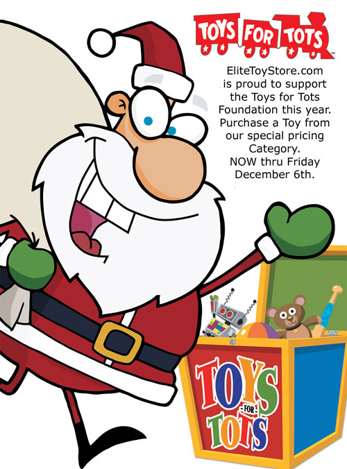 Toys For Tots Pdf : Elitetoystore to donate for every facebook quot like