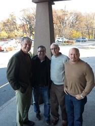 3 Time Super Bowl Champion Bart Oates, Dr. Seltzer, Dr. Rein and David Gergen, long island dental sleep medicine, pro player health alliance, sleep apnea, nfl