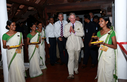 Prince Charles visits Kumarakom Lake Resort