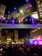 GE Brilliant Machines Rock Union Square in New York City with...