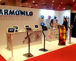 Armodilo iPad Kiosk / Tablet Display Stand / CETW in New York