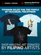 Philippine Typhoon Haiyan Relief Funds Raised by Local Artists and...