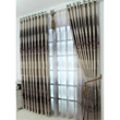 Stylish and Fancy Energy Saving Curtains of Brown Printed Patterns(Two Panels)