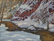 Casweck Galleries Exhibits Plein Air Painter Chuck Volz's 'Winter...