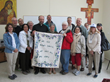 Pilgrims in the Holy Land who traveled with Tekton Ministries