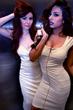 Mariela Perez & Shauna Geffon wearing Culture Shock Cosmetics