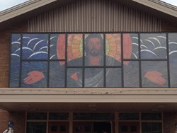 Stained Glass Mural