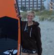 April Zilg, Women's Champion, East Coast Paddle Surf