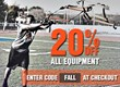 Fall Sale on King Sports Training Equipment