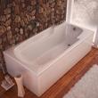 Atlantis Eros 32 x 60 x 23 - Inch Rectangular Soaking Bathtub 3260E