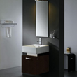 Vigo VG09011104K - 18-inch single Bathroom Vanity with mirror and light